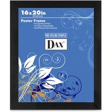 DAX 2860V2X Burns Grp. Black Wood Poster Frame DAX2860V2X