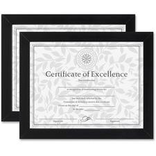 DAX N15832 Burns Grp. Linen Insert Certificate Mahogany Frame DAXN15832