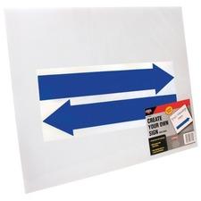 COS 098055 Cosco Custom 15x19 Directional Sign Kit COS098055