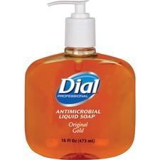 DIA 80790CT Dial Corp. Original Gold Antimicrobial Liquid Soap DIA80790CT