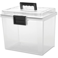 IRS 110350 Iris Weather Tight Portable File Box IRS110350