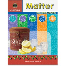TCR 3660 Teacher Created Res. Gr 2-5 Matter Science Book TCR3660