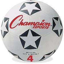 CSI SRB4 Champion Sports Size 4 Soccer Ball CSISRB4