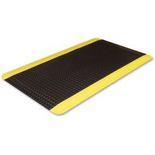 CWN CD0035YB Crown Mats Industrial Deck Plate Anti-fatigue Mat CWNCD0035YB