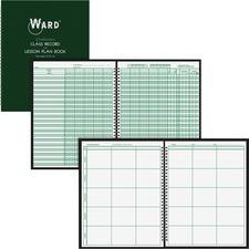 HUB 91016 Hubbard Comp. 9-Wk Record/6 Period Lesson Plan Bk HUB91016