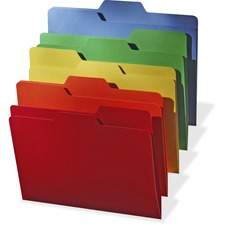 IDE FT07070 Ideastream All Tab Assorted Color Folders IDEFT07070