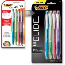 BIC VCGAP41AST Bic Atlantis Retractable Ball Pens BICVCGAP41AST