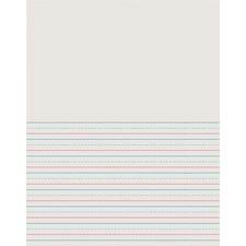PAC 2695 Pacon D'Nealian Ruled News Storybook Writing Pads PAC2695