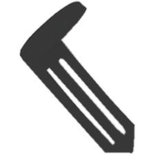 MMF 261401804 MMF Industries Nylon Vault Keyhole Signals MMF261401804