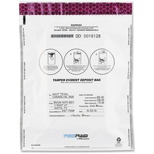 "MMF 236210406 MMF Industries 16"" FREEZFraud Deposit Bags MMF236210406"