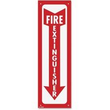 COS 098063 Cosco Fire Extinguisher Sign  COS098063