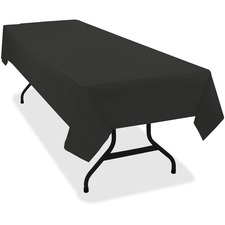 TBL 549BK Tablemate Heavy-duty Plastic Table Covers TBL549BK