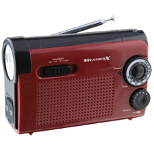 WeatherX Instant NOAA Weatherband Radio