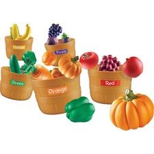 LRN LER3060 Learning Res. Farmer's Market Color Sorting Set LRNLER3060