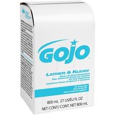 Gojo 800ml Refill Lather Klean Body/Hair Shampoo