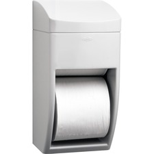 BOB 5288 Bobrick Washrm. 2-roll Plastic Bath Tissue Dispnsr BOB5288