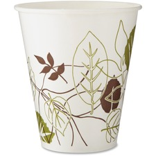 DXE 12FPPATH Dixie Foods Pathways Poly Lined Cold Cups DXE12FPPATH