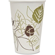 DXE 16PPATH Dixie Foods Pathways Poly Lined Cold Cups DXE16PPATH