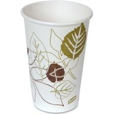 DXE 2346PATH Dixie Foods Pathways Paper Hot Cups DXE2346PATH