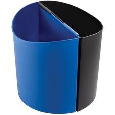 SAF 9928BB Safco Desk-Side Recycling Receptacle SAF9928BB