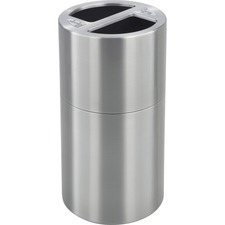 SAF 9931SS Safco Dual Recycling Receptacle SAF9931SS
