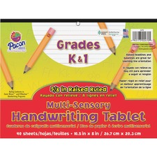 PAC 2470 Pacon Grades K-1 Multi-sensory Handwriting Tablet PAC2470
