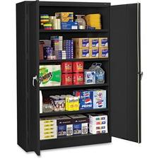 TNN J1878SUBK Tennsco Black Jumbo Storage Cabinet TNNJ1878SUBK