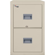 FIR 2P1825CPA FireKing Patriot Series 2-Drawer Vertical Files FIR2P1825CPA