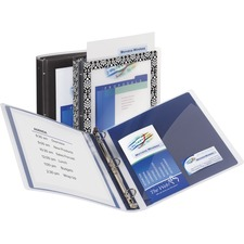 AVE17637 - Avery&reg Flexi-View Binders with Round Rings