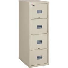 FIR 4P2131CPA FireKing Patriot Series 4-Drawer Vertical Files FIR4P2131CPA