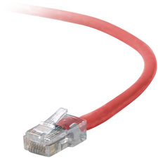 Belkin CAT5 Red UTP Patch Cable, 2'