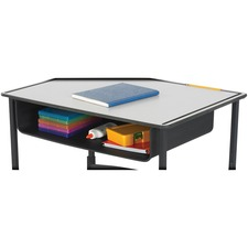 SAF 1212BL Safco AlphaBetter Adj-Height Desk Book Box SAF1212BL