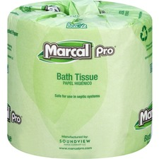 MRC 3001 Marcal Pro 100% Recycled Bath Tissue  MRC3001