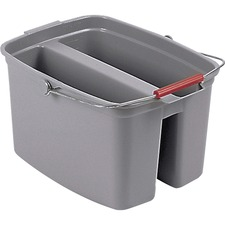 RCP 262888GY Rubbermaid Comm. Double Pail Bucket RCP262888GY