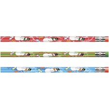 MPD 52071B Rose Moon Inc. Snowman Seasonal Pencil MPD52071B