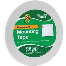 DUC1289275 - Duck Brand Brand Double-sided Foam Mounting Tape
