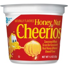 GNM SN13898 General Mills Honey Nut Cheerios Cereal-In-A-Cup GNMSN13898