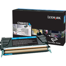 C748 Cyan Toner Cartridge High Yield / Mfr. no.: C748H2CG