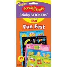 TEP T83906 Trend Fun Fest Stinky Stickers Variety Pack TEPT83906