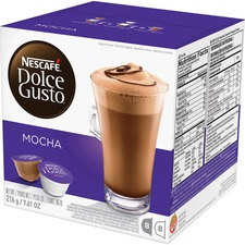 NES 27359 Nestle Dolce Gusto Mocha Coffee Capsules NES27359