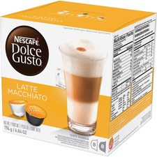 NES 27326 Nestle Dolce Gusto Latte Macchiato Coffee Pods NES27326