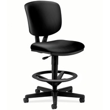HON 5705SB11T HON Volt Seating Leather Adjustable Task Stool HON5705SB11T