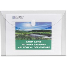 CLI 35107 C-Line Specialty Reusable Poly Envelopes CLI35107