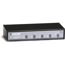Black Box 2x4 DVI Matrix Switch With Audio