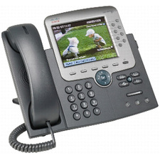 Cisco Unified 7975G IP Phone - Dark Gray, Silver