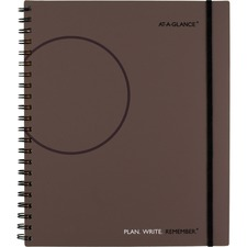 AAG70620930 - At-A-Glance Planning Notebook Lined with Monthly Calendars