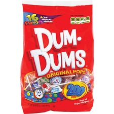 Dum Dum Pops Spangler Candy Co. Dum Dums Original Pops Candy