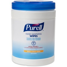 GOJ 911306 GOJO PURELL Sanitizing Wipes  GOJ911306