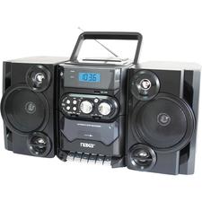 Naxa NPB-428 Mini Hi-Fi System - 5 W RMS - Black