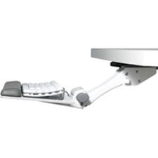 HUMANSCALE 5G Adjustable Keyboard Mechanism w/ swiveling Mouse Surface. Black.